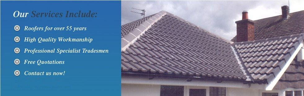 Contact Us Roofing In Northwich And Cheshire Northwich
